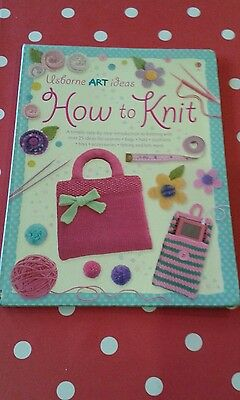 Usborne How to Knit  book