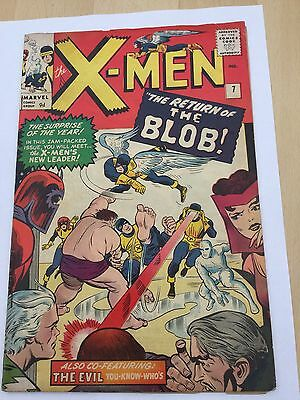 X-Men # 7 Sept 1964 1st series Jack Kirby cover and art