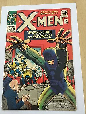 X-Men # 14 Nov 1965 1st series 1st appearance of the Sentinels