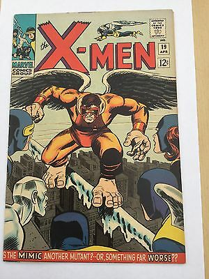X-Men # 19 April 1966 1st series 1st appearance of the Mimic