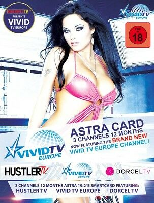 HUSTLER & DORCEL TV ASTRA 4 Sender 12 Monate Viaccess