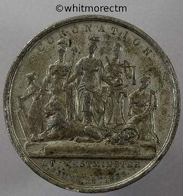1838 Coronation of Queen Victoria Medal 46mm - Brown 1842