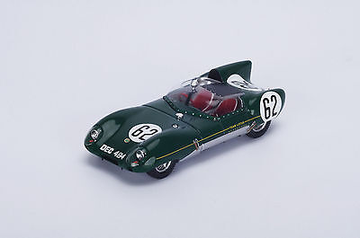 S4398 Spark 1/43:Lotus XI No.62 9th Le Mans 1957 H. Mckay Frazer- J. Chamberlain