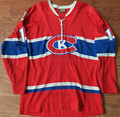 1970's Kingston Canadians OHA Game Worn Jersey