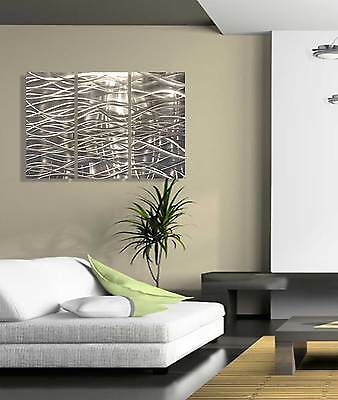 metal wall art sculpture abstract