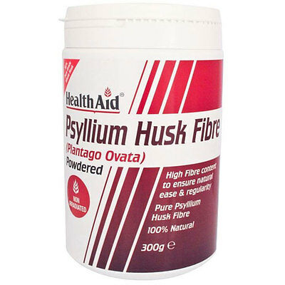 Health Aid Psyllium Husk Fibre Powder - 300g Tub