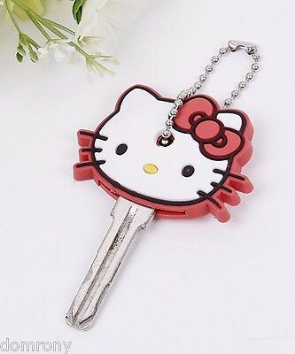 Key Cover Cute Anime Hello Kitty Chain