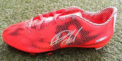 Ryan Hall Hand Signed Adidas F10 Rugby Boot - Leeds Rhinos Autograph - COA