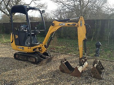 jcb 8014 cts 2011 mini digger and trailer no vat