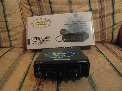 cree 8900 ssb radio boxed 3 months old
