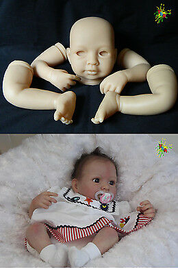 "**seconds Quality**  Emily  20""  Soft Unpainted Vinyl Reborn Doll Kit"