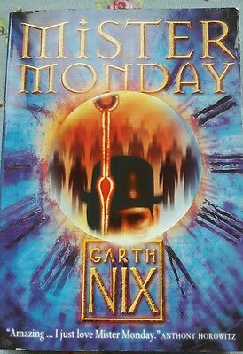 Mister Monday (The Keys to the Kingdom, Book 1) by Garth Nix (Paperback, 2004)