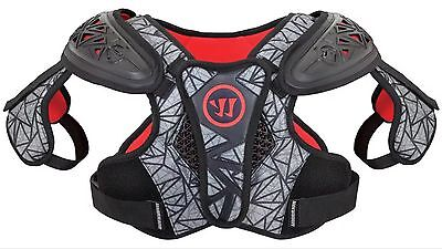 WARRIOR Adrenaline X2 Hitman Lacrosse Shoulder Pad NEW Size Small Boys Kids