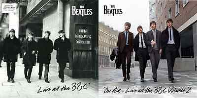 THE BEATLES ON AIR AT THE BBC ~ VOL. 1 AND 2 ~ 2 x REMASTERED VINYL LP's ~ *NEW*