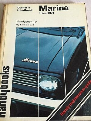 Marina Owners Handbook From 1971