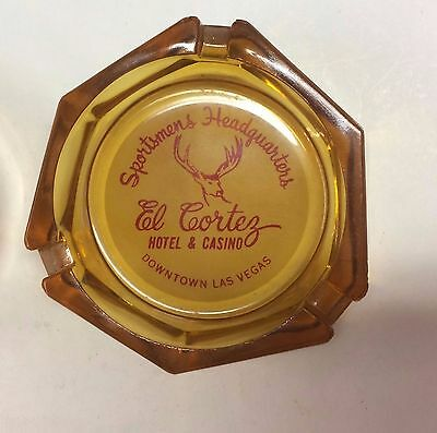 Casino AD ASHTRAY El Cortez hotel LAS VEGAS GAMING slots lodging NEVADA gambling