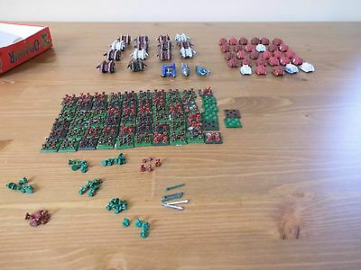 Warhammer 40K Epic space marines and tanks