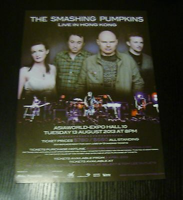 The Smashing Pumpkins Live in Hong Kong 1 magazine clipping mini poster