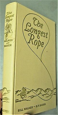1959 book:Western Americana THE LONGEST ROPE Truth About the Johnson County War