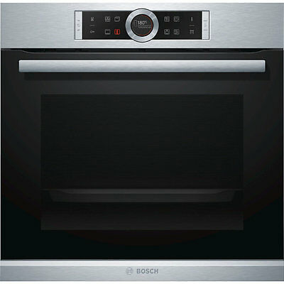 Bosch HBG674BS1B Serie 8 Built In Electric Single Oven 60cm Single