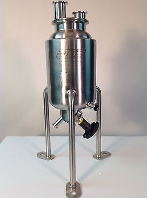 Stainless Steel Jacketed Pressure Vessel For Laboratory and/or Industrial use.