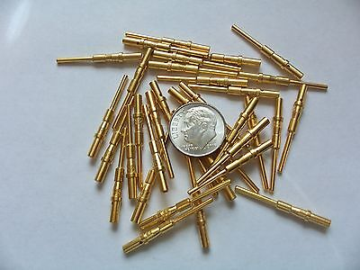1 Troy Oz Gold Plated Military Pins Connectors Gold Scrap Recovery