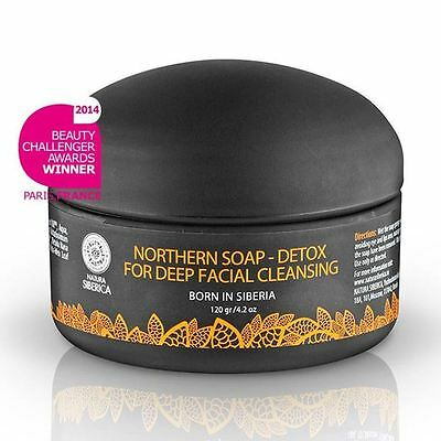 Natura Siberica Northern Natural Facial Soap Based on Activated Carbon