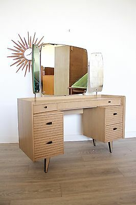 DELIVERY £50 Mid Century Retro Vintage Atomic Lebus Dressing Table