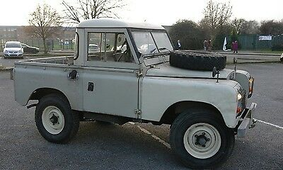 Land Rover Series 2A 1969 2.25 petrol + Rover V8 engne and rare adapter plate!