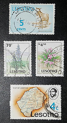 LESOTHO Mixed Used Stamps (No 540)