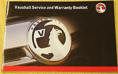 Genuine Vauxhall Service History Book For Petrol And Diesel No Duplicate