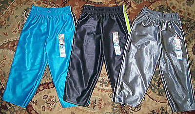 NEW! Garanimals Lot of 3 Pair Dazzle Taped Pants Toddler Boys Size 2T