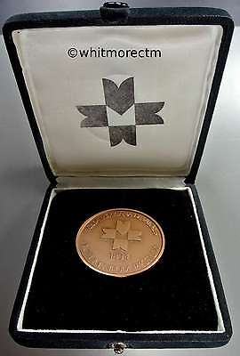 1990 Mexico Medal 50mm Bronze Cased