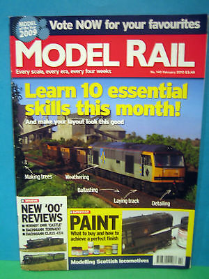 MODEL RAIL No.140 FEBRUARY 2010 # BALLYCONNELL ROAD IRISH 3mm LAYOUT   SEE PICS