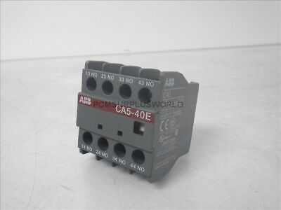 CA5-40E 1SBN010040R1040 ABB Auxiliary Contact Block 16A (New No Box)