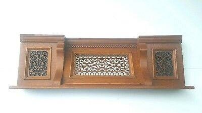 Antique Quarter Sawn Oak Mantle Mantel Fireplace Home Accent