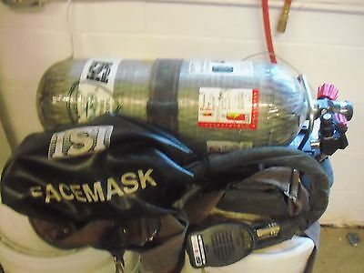 SCBA Tank and Airpack with Face mask (f) includes operating manual