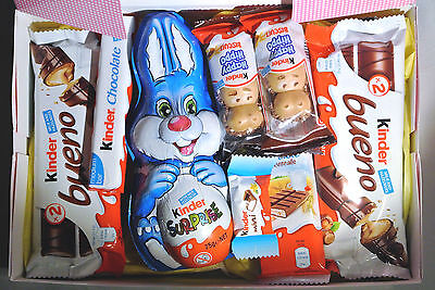 Easter Kinder Chocolate Sweets Hamper Gift Selection Box Present