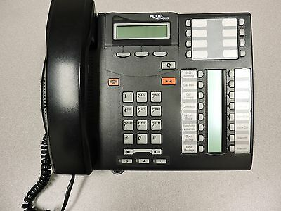 (Used) Nortel Norstar T7316E Business Phone Black