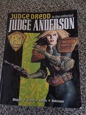 Judge Dredd in the collected Judge Anderson Book