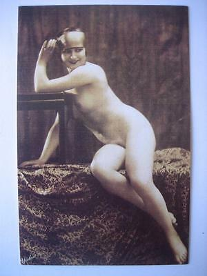 Nostalgia postcard: A 1925 Nude picture of the newly emancipated Edwardian Woman