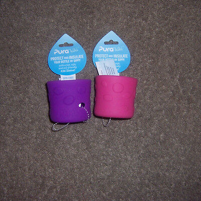 Pura Kiki Silicone Sleeve  short lot new bottle or sippy new