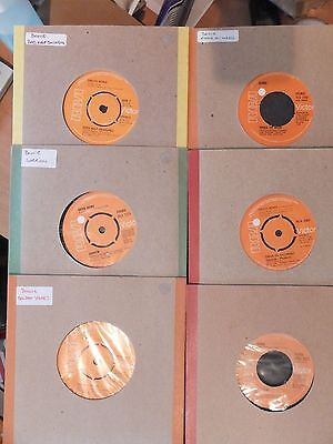 "David Bowie 10x7""Singles Records Vinyl 1970s-1980s RCA Great Collection Classic"