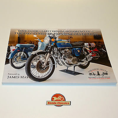 Guide Book Classic Honda Motorcycle David Silver Honda Collection Museum. HBK004