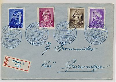 2151) Slovakia, Mi. 134-41 First Day Cover!
