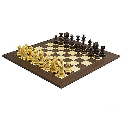 The Large Lemington Rosewood Luxury Chessmen with 4.25 inch King RCPB321