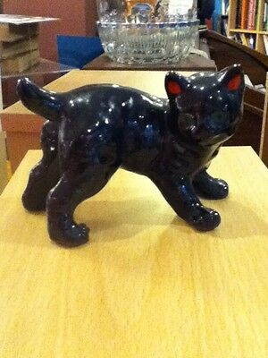 vintage black Cat Ornament