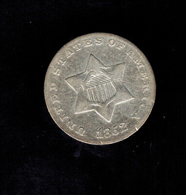 U.S.A: 3 Cents 1852-1867