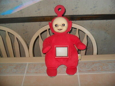 "1998 Microsoft Actimates Teletubbies PO Teletubby 17"" Plush Toy (Works)"