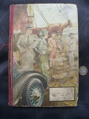 Original French Diary, Agenda Dated 1936,plus letters etc.